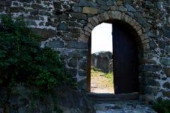De muren van het oude fort stock afbeeldingen