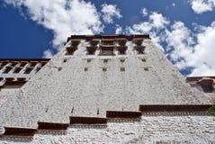 De Muren van het Paleis van Potala Stock Fotografie