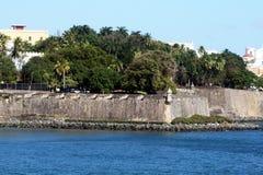 De muren van Puerto Rico Stock Foto