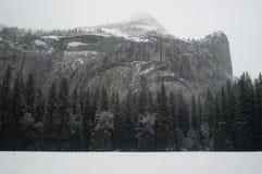 De Muren van Yosemite in de Winter Royalty-vrije Stock Foto