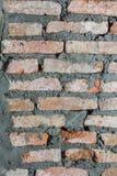 De muren worden gemaakt van baksteen royalty-vrije stock foto's