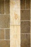 De muren zijn diagonaal geschilderd Stock Afbeelding