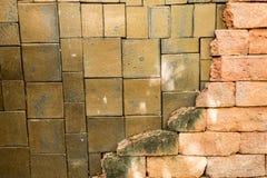 De muren zijn verfraaid royalty-vrije stock afbeeldingen