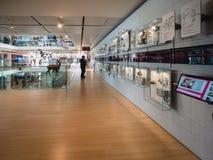 De MUSE is het Museum van de Wetenschappen van Trento Binnenlandse I Royalty-vrije Stock Foto