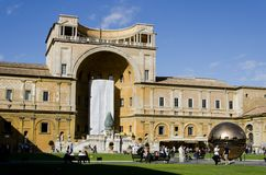 De Musea van Vatikaan Royalty-vrije Stock Fotografie