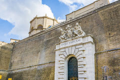 De Museaingang van Vatikaan royalty-vrije stock fotografie