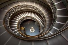 De Museatrap van Vatikaan Royalty-vrije Stock Afbeelding