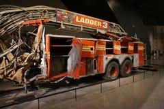 9/11 de museu memorável, ponto zero, WTC Fotografia de Stock