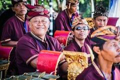 De Musici van de Dans van Barong, Bali, Indonesië royalty-vrije stock fotografie