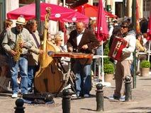 De musici van de straat Royalty-vrije Stock Foto