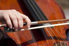 De musicus van de straat Royalty-vrije Stock Foto