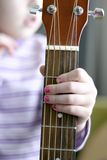 De Musicus van het kind Stock Fotografie