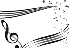 De musique affectueux Images libres de droits