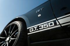 De Mustang GT 350 van Shelby Royalty-vrije Stock Afbeeldingen