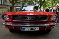 De Mustang GT van de doorwaadbare plaats Royalty-vrije Stock Afbeelding