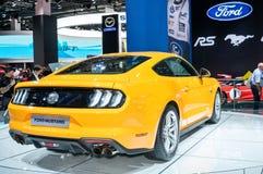 De Mustang GT van de doorwaadbare plaats Royalty-vrije Stock Afbeeldingen
