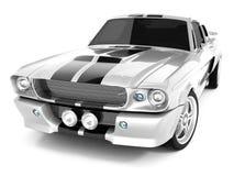 De Mustang GT500 van Shelby Stock Afbeeldingen