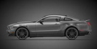De Mustang van de doorwaadbare plaats (2010) Royalty-vrije Stock Foto's