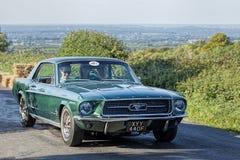 1967 de Mustang van de Doorwaadbare plaats Stock Fotografie