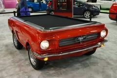 De Mustang van de doorwaadbare plaats als poollijst Stock Afbeeldingen