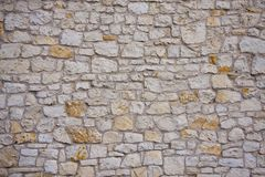 De muur abstracte achtergrond van de steen Royalty-vrije Stock Foto's