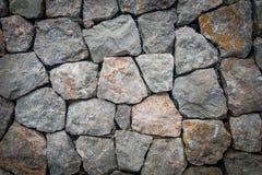 De muur concrete pleister van de steenlei stock afbeelding