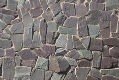 De muur of de weg van de rots Royalty-vrije Stock Foto