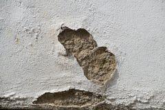 De muur die flard van beschadigd tonen geeft terug Stock Fotografie