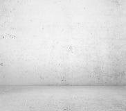 De muur en de vloertextuur van Oncrete Stock Afbeelding