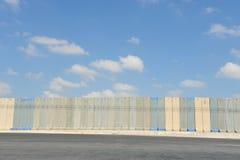 De Muur Gaza Israël van de scheiding Stock Foto's