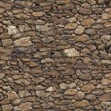 De muur naadloze textuur van de steen Royalty-vrije Stock Foto