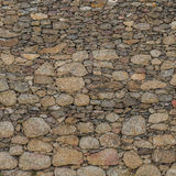 De muur naadloze textuur van de steen Royalty-vrije Stock Afbeelding