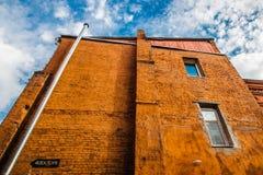 De muur Om worden geschilderd Stock Afbeelding