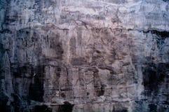 De muur schilderde zwarte en bruine kleur Stock Afbeelding