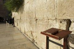 De muur, sluit omhoog bijbel Royalty-vrije Stock Foto