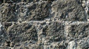 De muur van de achtergrond steen textuur stock afbeelding