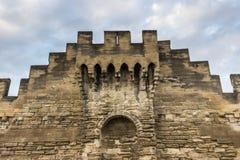 De Muur van Avignon stock foto's