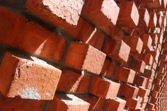 De muur van baksteen Stock Afbeeldingen
