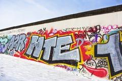 De muur van Berlijn Stock Fotografie