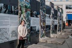 De muur van Berlijn Royalty-vrije Stock Afbeelding
