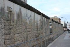 De muur van Berlijn Duitsland Royalty-vrije Stock Afbeeldingen