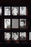 De muur van Berlijn, slachtoffersgedenkteken Royalty-vrije Stock Afbeeldingen