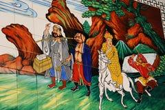 De muur van Boedha Royalty-vrije Stock Foto's
