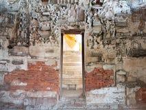 De muur van Boedha Stock Foto's