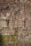 De muur van Bricked Stock Foto's