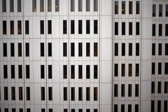De muur van de bureaubouw bekeek volledig kader Royalty-vrije Stock Afbeeldingen