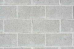 De muur van Cinderblock Stock Foto's