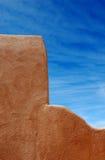 De Muur van de adobe Royalty-vrije Stock Foto's