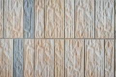 De muur van de baksteensteen of vloer naadloze achtergrond en textuur Royalty-vrije Stock Afbeeldingen