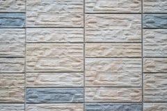 De muur van de baksteensteen of vloer naadloze achtergrond en textuur Royalty-vrije Stock Foto's